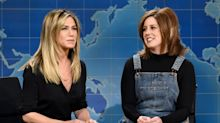Jennifer Aniston was initially put off by SNL star Vanessa Bayer's impression of her