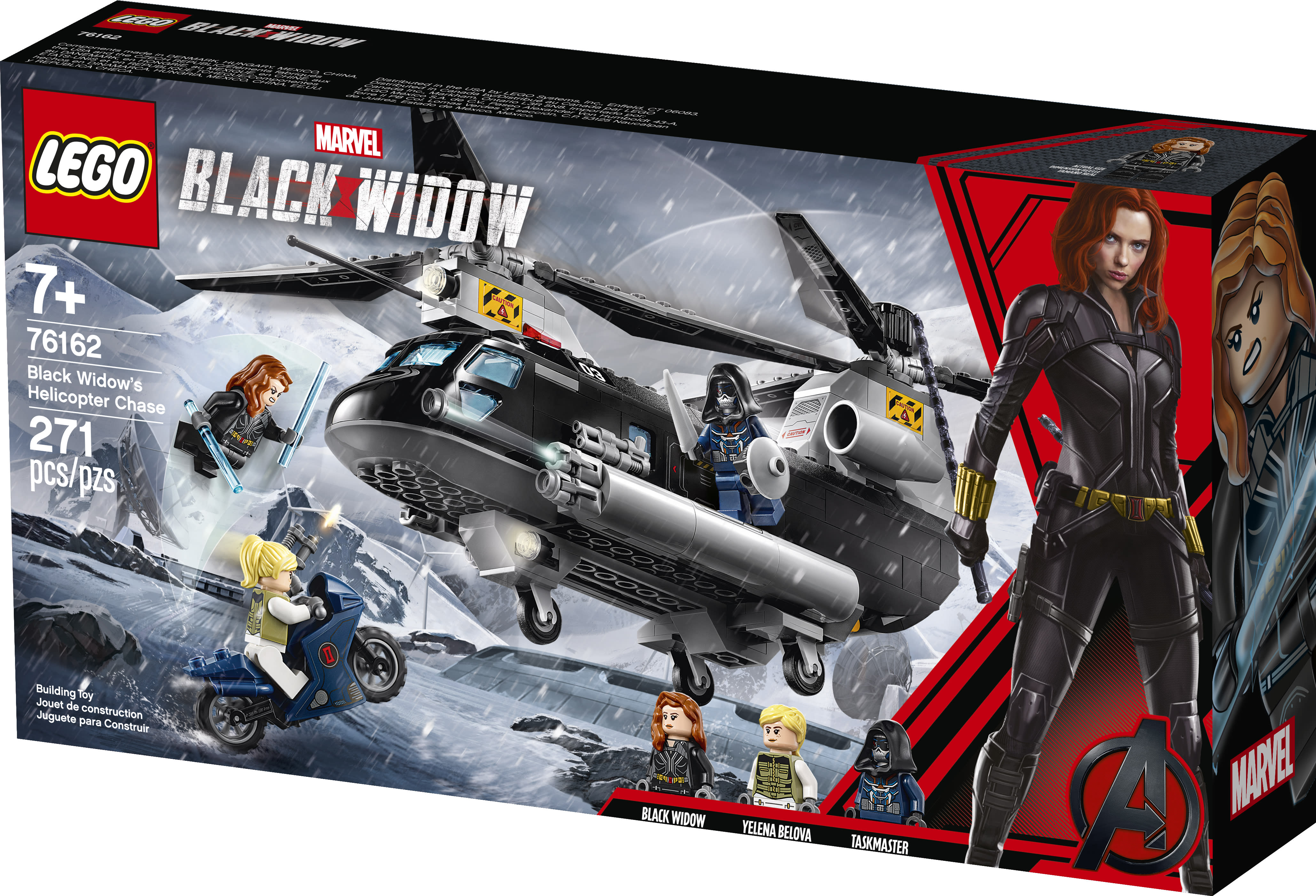 Exclusive first look at 'Black Widow' merchandise, from Funko and Lego to Adidas and body pillows