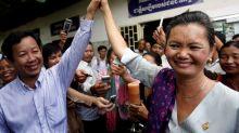 Cambodia activists urge release of unionist accused of inciting unrest