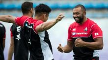 Stir crazy - coffee for one for Japan captain Leitch