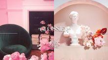 這個充滿浪漫氛圍的「粉紅國度」不是什麼藝術館,而是 Glossier 在英國的 Pop-up Store!
