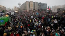 Russia beefs up fines for protest violations after Navalny rallies