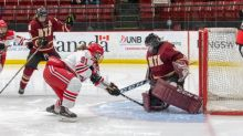UNB Reds women's hockey team loses in first game back