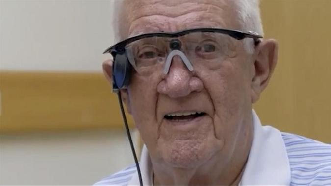 British pensioner's central vision restored with Argus II 'bionic eye'