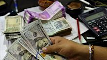 Rupee Opens Lower At 76.45; Bond Yields Decline To 6.28%