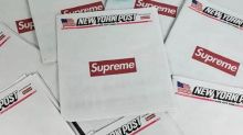 Supreme fans pay more than 10 times cost for copies of New York Post thanks to front-page advert