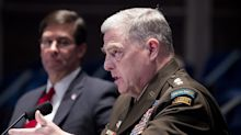 Joint Chiefs chairman says Confederate names on military installations are divisive and offensive, setting up prospect of Trump clash