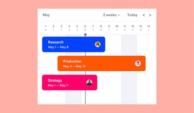 Dropbox's collaboration tool adds timelines to coordinate your team