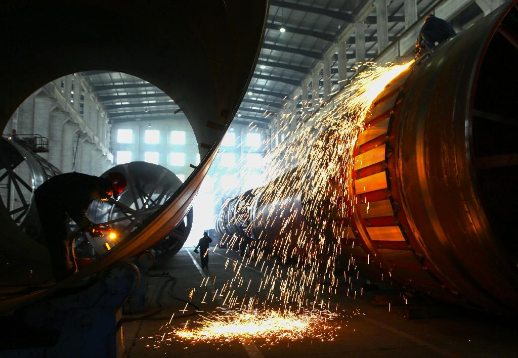 There is speculation that factory gate inflation could turn into deflation, which could hit economics growth and corporate profits