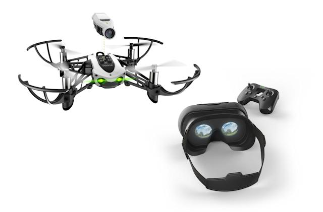 Parrot's Mambo FPV mini quadcopter gives you a drone's eye view