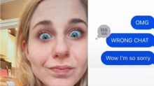 TikTok user accidentally sends X-rated message to family group chat