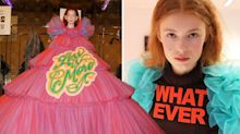 These incredible slogan gowns are the talk of Haute Couture Fashion Week