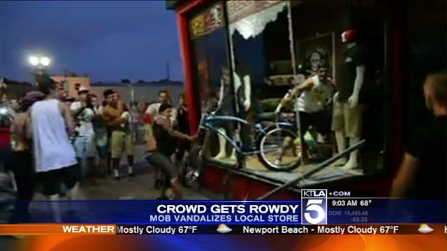 Rioting Breaks Out After U.S. Surfing Open; 8 Arrested