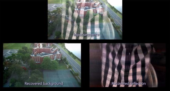 Google and MIT can take reflection-free photos through windows