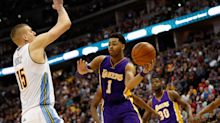 Twitter reacts to D'Angelo Russell, Lakers fiasco