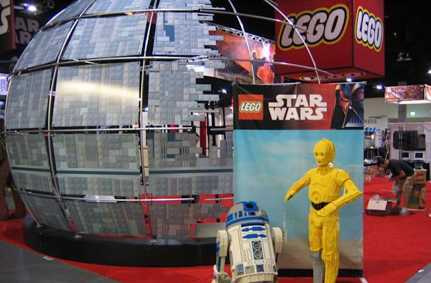 Disney's retelling the 'Star Wars' film saga with Legos
