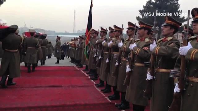 Afghan Army Mourns Soldiers Killed in Taliban Attack