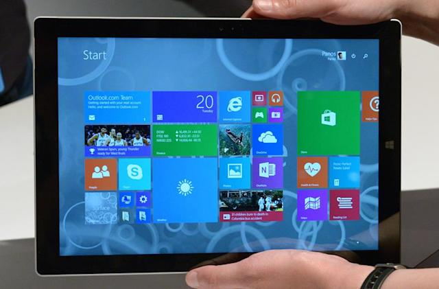 Hands-on with Microsoft's Surface Pro 3