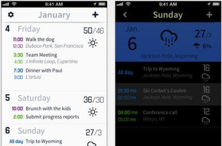 Daily iPhone App: Horizon puts a weather report in a calendar app