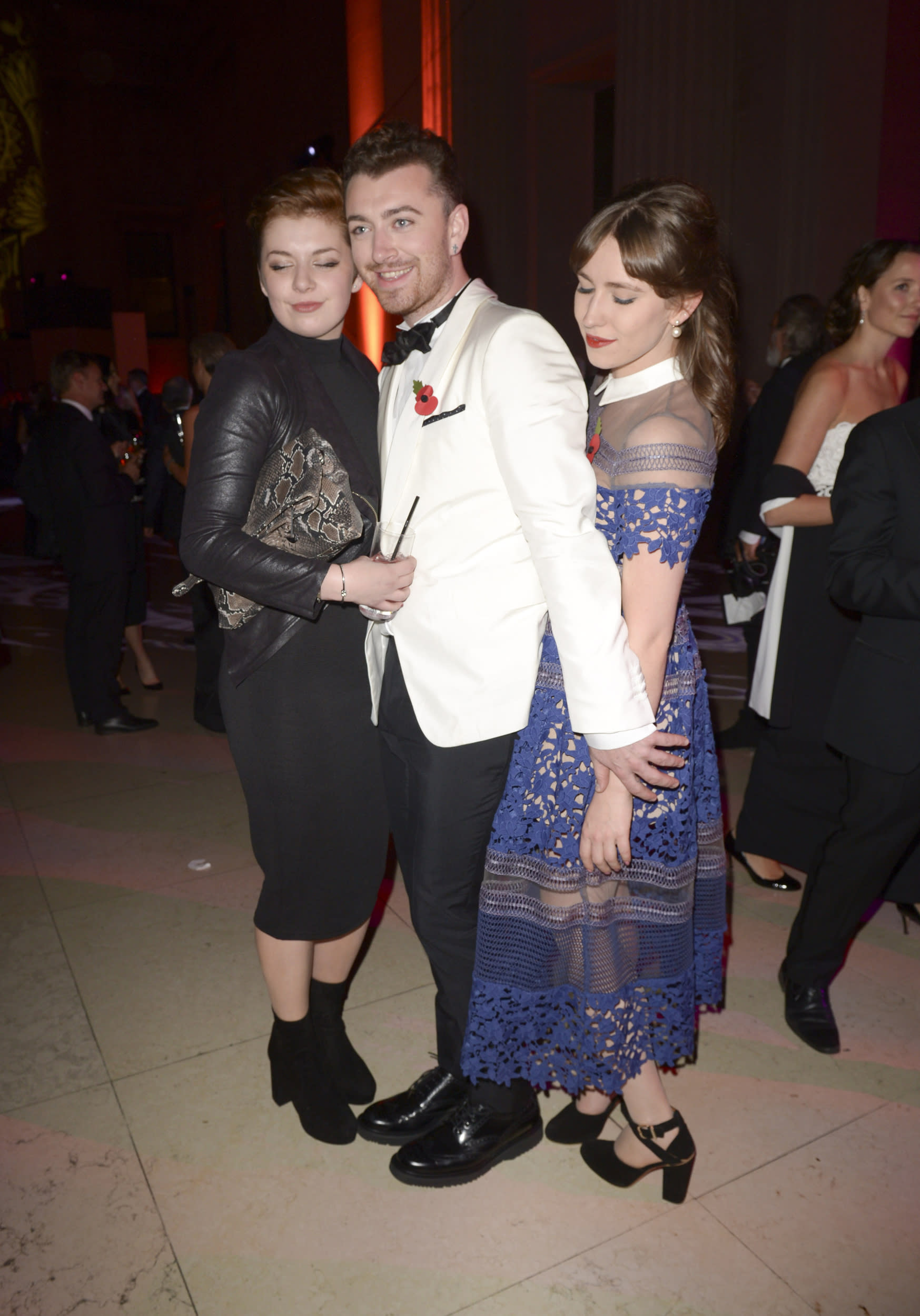 Sam Smith attending the Spectre after party held at the British Museum in London