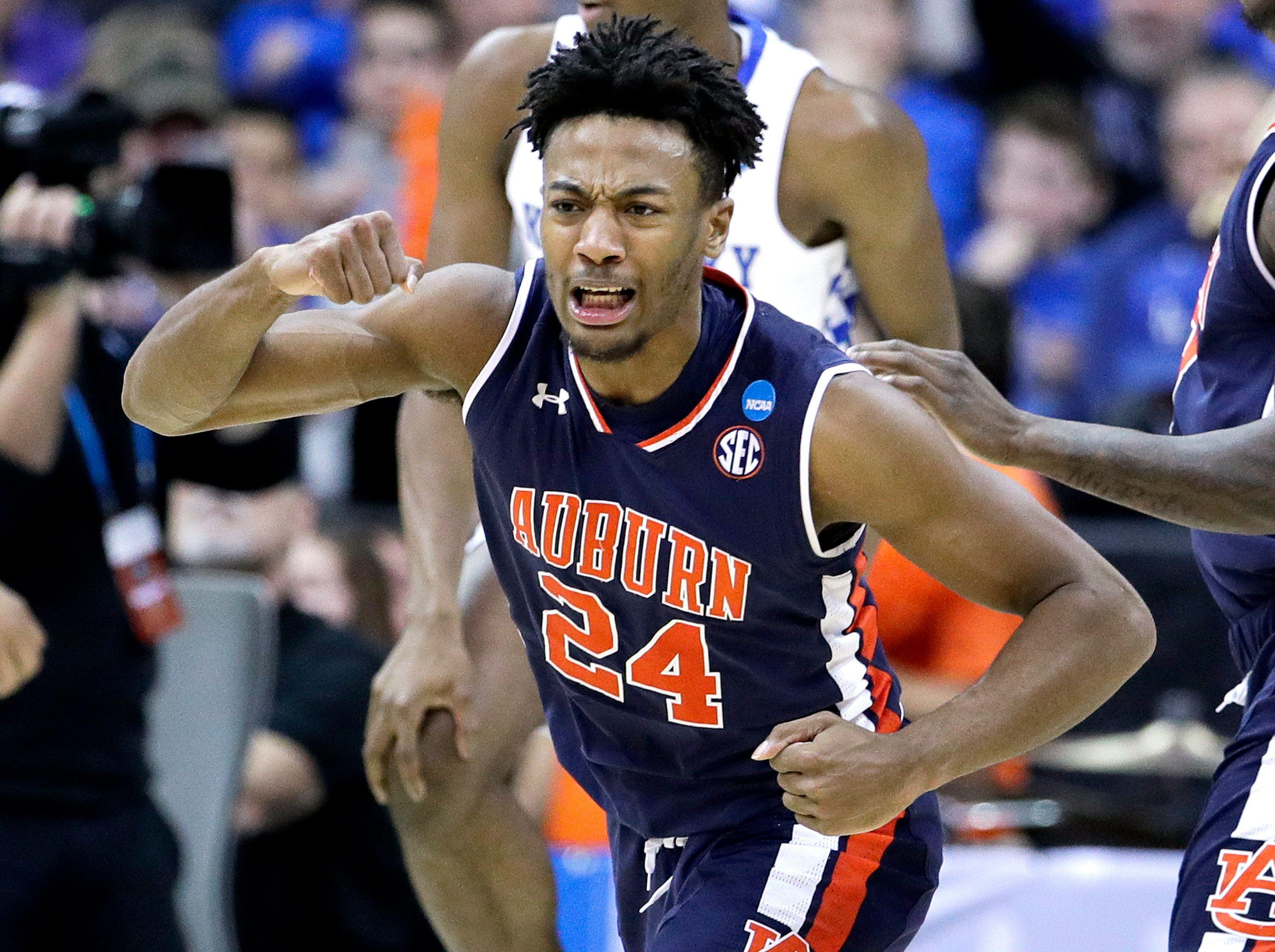 Shorthanded Auburn Stuns Again Topples Kentucky To Advance