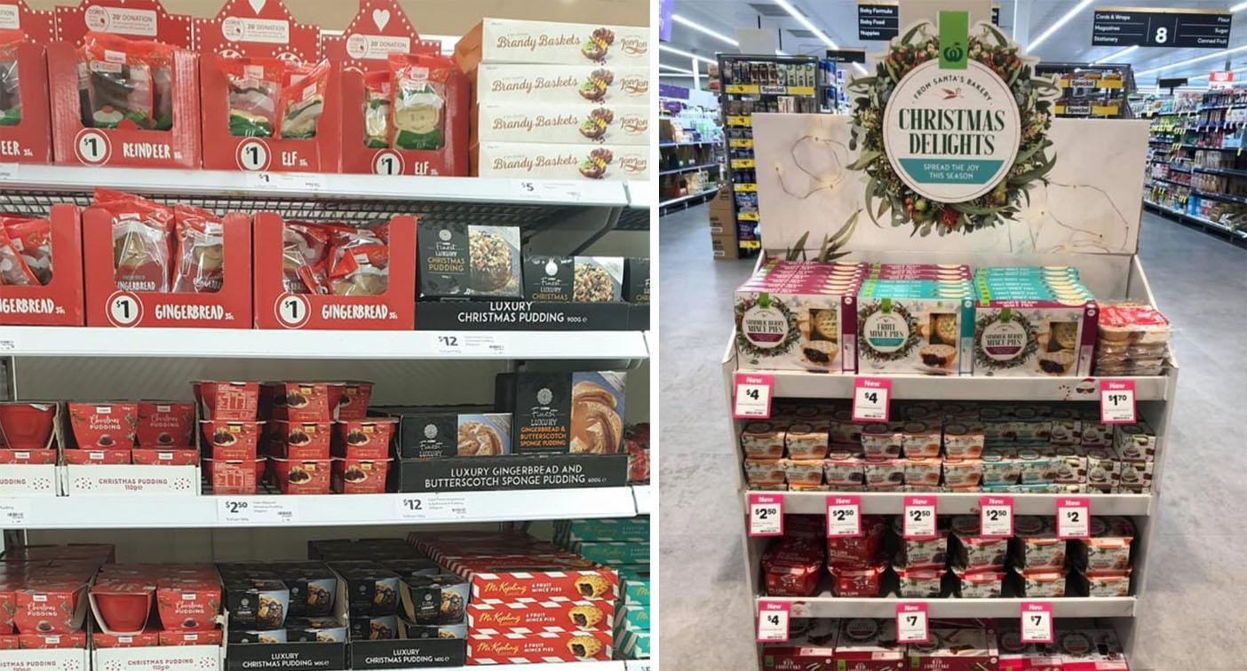 Why Coles and Woolies' Christmas goodies are on the shelves 100 days out