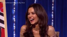 Michael McIntyre causes Cheryl blushes in embarrassing 'send to all' skit