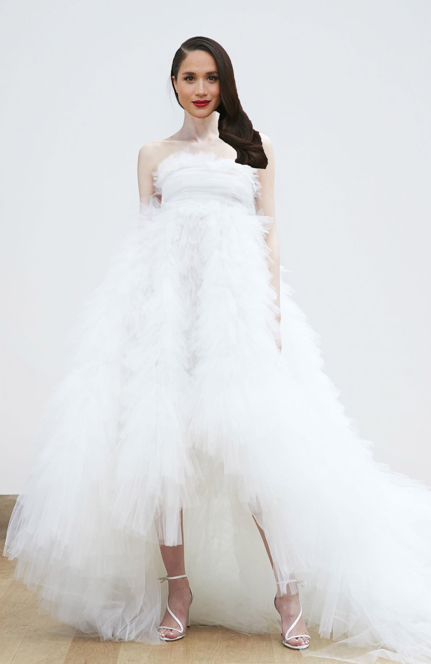 Meghan Markle Wedding Dress Predictions