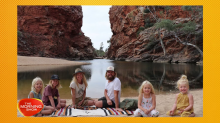 Family of six packed up their entire lives to travel Australia