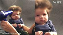 Os bebês cabeludos mais lindos do mundo