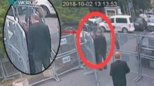 Jamal Khashoggi latest: chilling CCTV shows journalist speak to fiancée for the last time before entering Saudi consulate