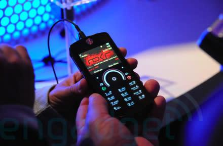 Hands-on with the Motorola ROKR E8