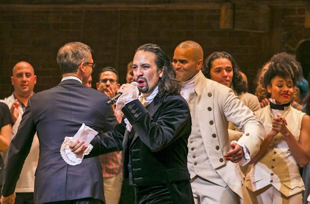 'Hamilton' app helps you get tickets, take embarrassing selfies