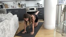 Watch former TOWIE star Lauren Pope's 10-minute pregnancy workout video