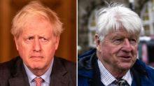 Boris Johnson says his father Stanley should have followed coronavirus rules