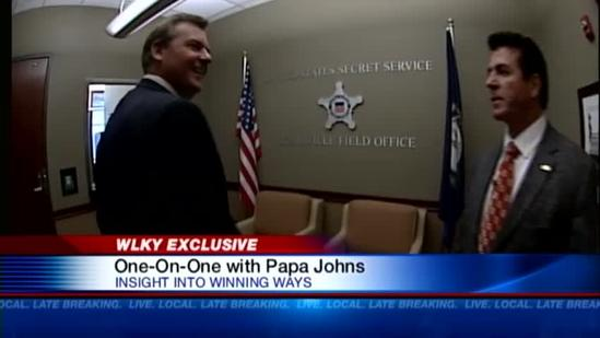 Preview: Behind the scenes at Papa John's