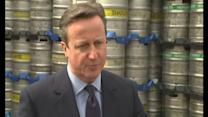 David Cameron hails 'unprecedented intervention' from business leaders