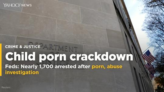 Feds New Guidance On English Language >> Feds Nearly 1 700 Arrested In Child Porn Abuse Crackdown