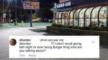 Jovem descobre traição do namorado através do Instagram do Burger King