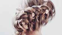 25eca6c61f9 Bridal hair inspo, courtesy of the best hairstylists on Instagram