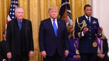 President Trump awards Jon Voight the National Medal of Arts, Angelina Jolie skips ceremony