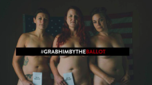 Woman are posing nude in protest at Donald Trump's sexist comments