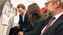 奧地利靚仔總理 出差堅持坐經濟艙