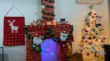 Kmart mum's DIY Christmas fireplace wows fans: 'Stealing this!'