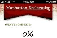 On the Manhattan Declaration and Apple's curation of the App Store