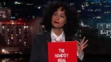 Tracee Ellis Ross explains how not to sexually harass women with children's book 'The Handsy Man'