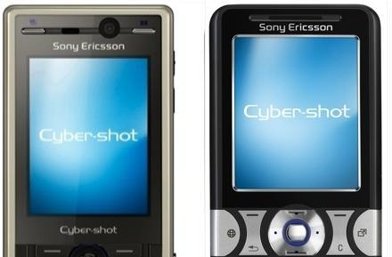 Sony Ericsson's K810 and K550 Cybershot phones: slim 3.2 and 2.0 megapixel shooters