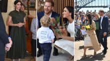 All the photos of Prince Harry and Meghan Markle's first tour day