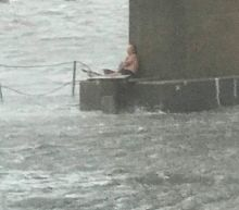Boater rescues man stranded under bridge: 'He was out there all night in just shorts'