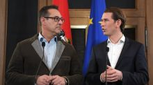 Autriche : la droite et extrême droite scellent un accord de gouvernement